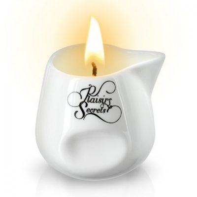Dans le bien être les bougies de massage Volupté des Sens