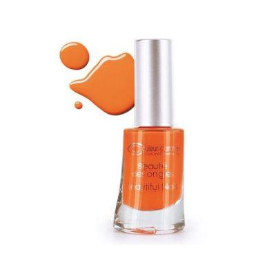 dans les cosmétiques les vernis à ongles couleur caramel volupté des sens
